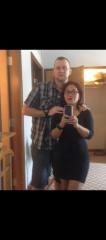 Having fun with wife