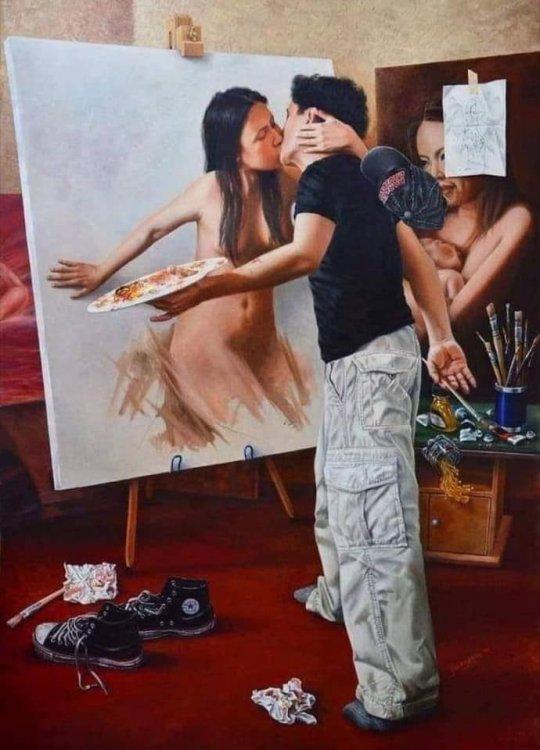 Loves His Art.jpg